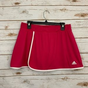Adidas Climalite Pink Athletic Active Skirt Skort